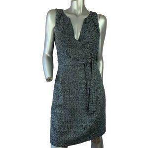 CHAPTER ONE | Tweed Belted Shift Dress Size 4
